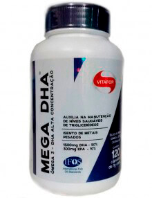 Pharma Care - Produtos Acabados - Mega DHA (Vitafor)